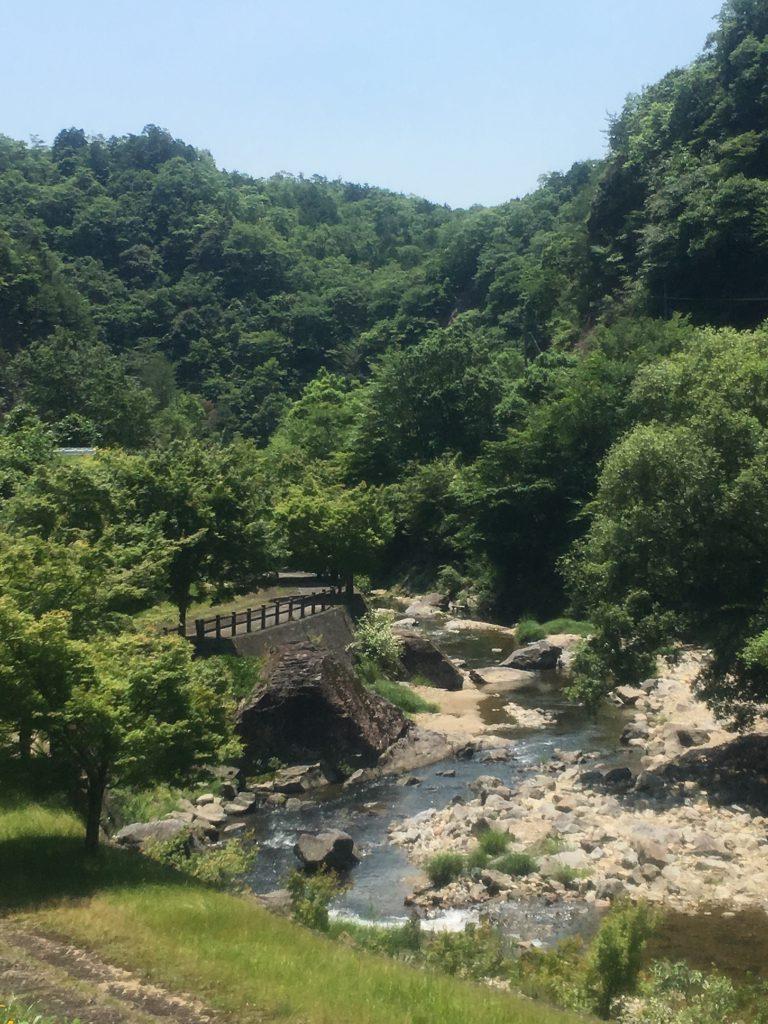 八塔寺渓谷
